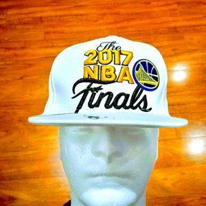 Adidas 2017 Golden State NBA Finals Snapback